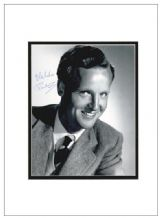 Nicholas Parsons Autograph Photo Signed